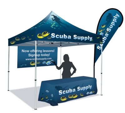 ⭐ Price Drop! | Marketing Tents For Trade Show Displays in